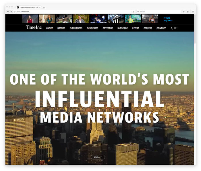 TimeInc website 6