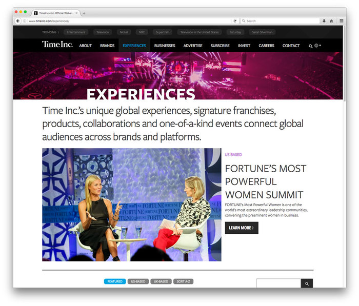 TimeInc website 7