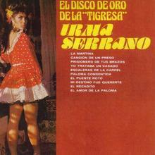 "Irma Serrano – <cite>El Disco de Oro de la ""Tigresa""</cite> album art"