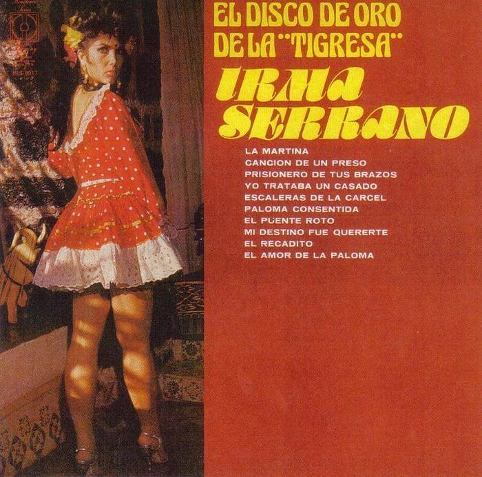 """Irma Serrano – El Disco de Oro de la """"Tigresa"""" album art 1"""