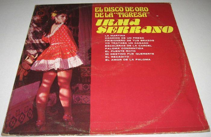 """Irma Serrano – El Disco de Oro de la """"Tigresa"""" album art 3"""