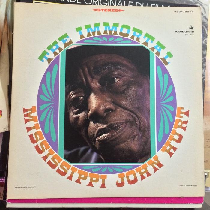 The Immortal Mississippi John Hurt album art 2