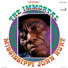 <cite>The Immortal Mississippi John Hurt</cite> album art