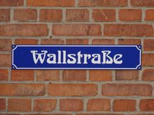 Street sign in Schwerin, Germany