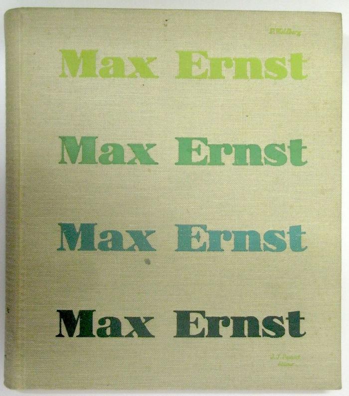 Patrick Waldberg – Max Ernst book cover 1