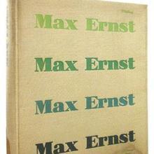 Patrick Waldberg – <cite>Max Ernst</cite> book cover
