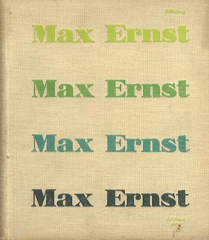 Patrick Waldberg – Max Ernst book cover 4