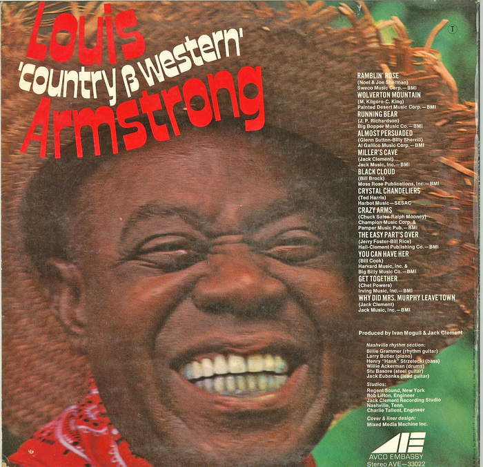 "Louis ""Country & Western"" Armstrong 2"