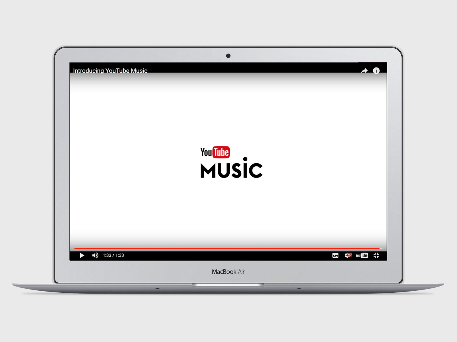 YouTube Music - Fonts In Use