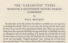 <cite>The Garamond Types Considered</cite> in <cite>The Fleuron No. 5</cite>