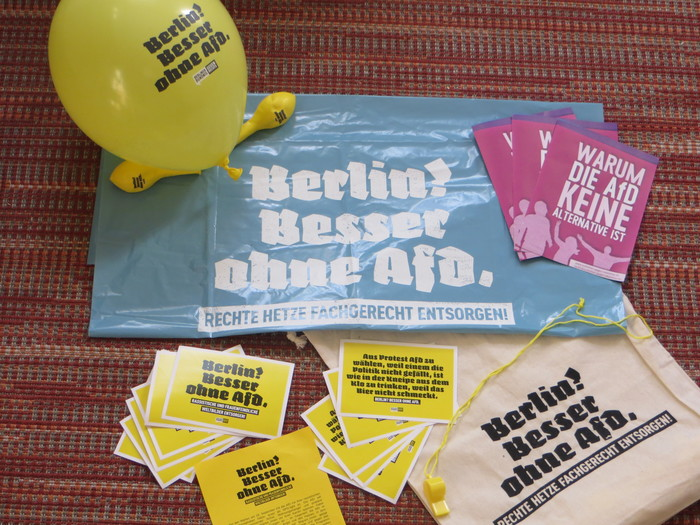 """Berlin? Better without AfD."""