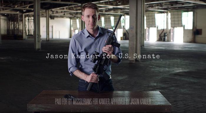 Jason Kander for Senate ad: Background Checks