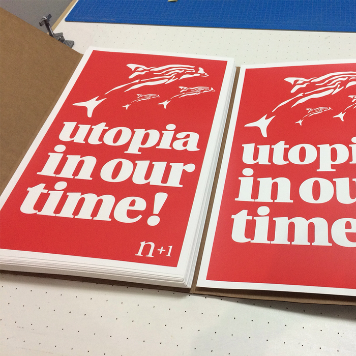 """Utopia in our time!"" poster 2"