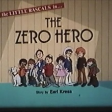 <cite>Little Rascals</cite> episode title card