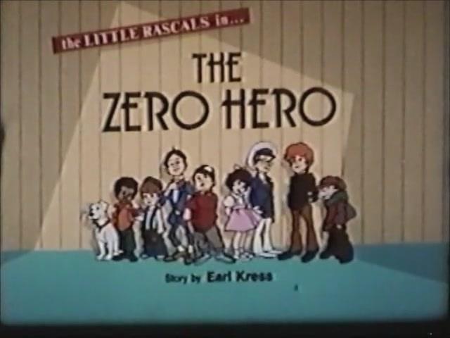 Little Rascals episode title card