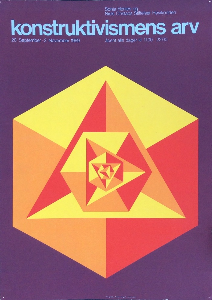 Konstruktivismens Arv exhibition poster 1