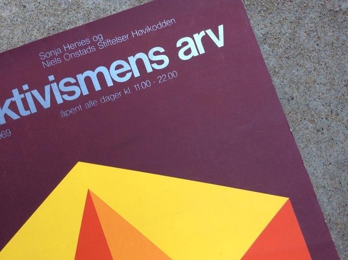 Konstruktivismens Arv exhibition poster 2