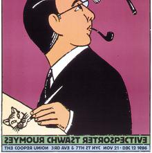 <cite>Seymour Chwast Retrospective</cite> posters