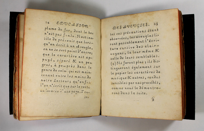 Haüy's Essay on the Education of the Blind (1786) 8