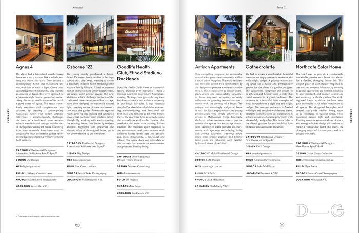 BDAV's Awarded magazine 7