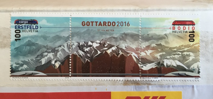 "The stamps were spotted by , the typeface's designer, who proudly comments: ""Swiss national pride communicated through FF DIN."""