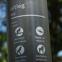 Wayfinding system for Artis — Amsterdam Royal Zoo