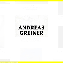 Andreas Greiner website