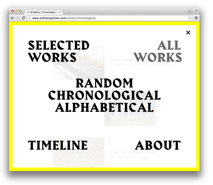 Andreas Greiner website 4