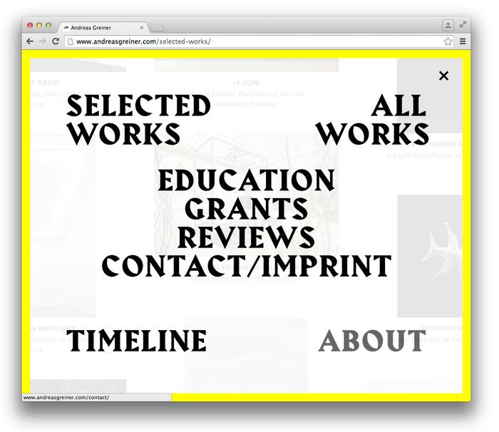 Andreas Greiner website 7