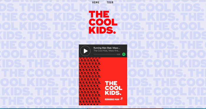 """Running Man"" – The Cool Kids 2"