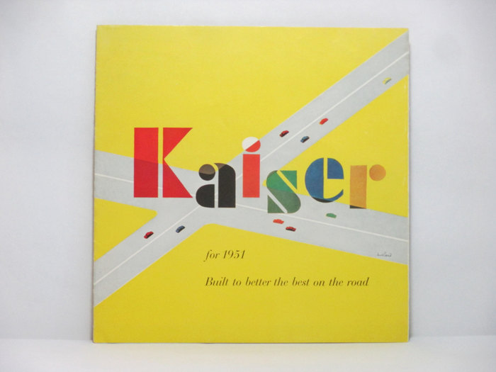 1951 Kaiser ad and brochure 4