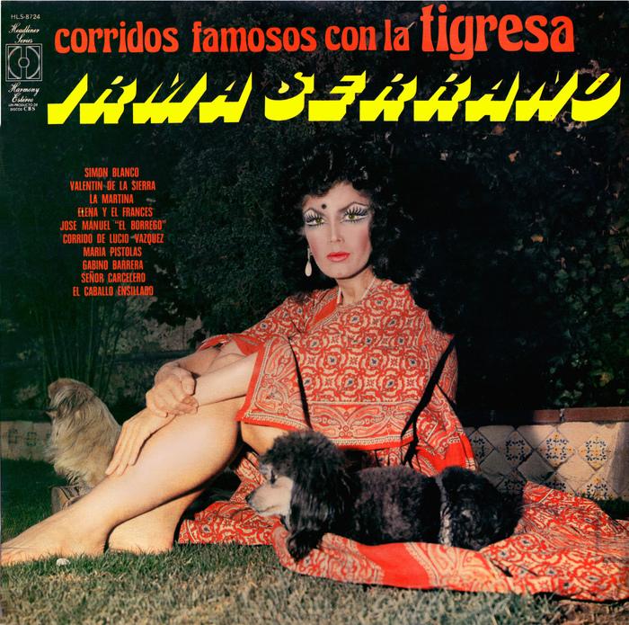 Irma Serrano – Corridos Famosos con La Tigresa album cover