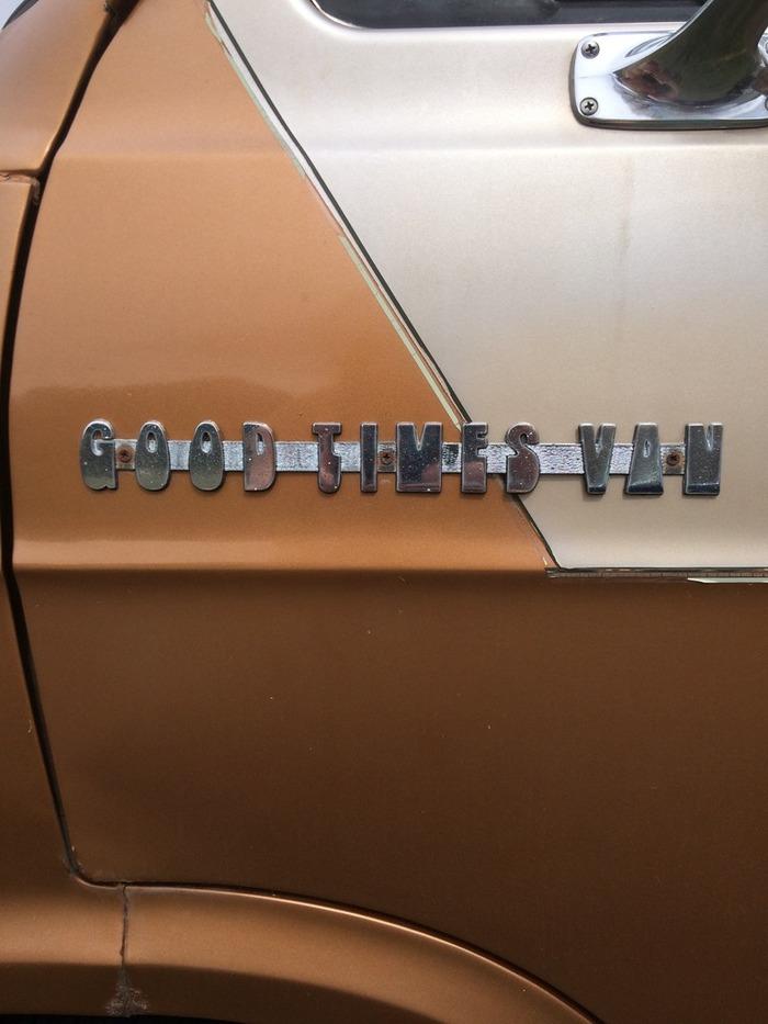 """1977 Dodge """"Good Times"""" Van."""