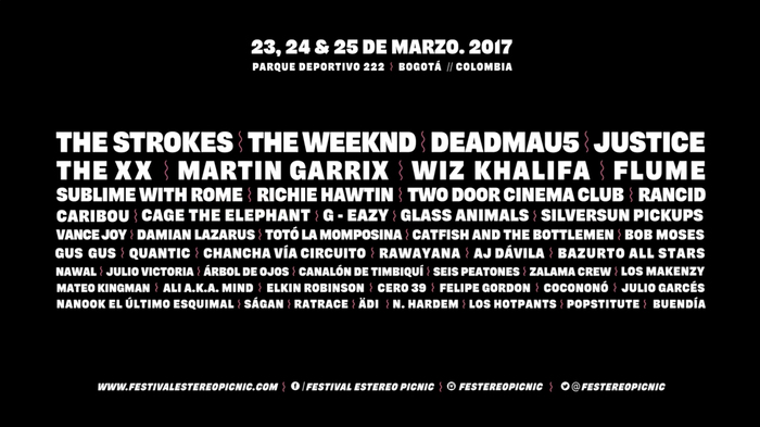 Festival Estéreo Picnic 2017 9