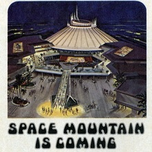 Disneyland ad for Space Mountain
