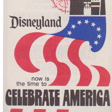 Disneyland <cite>America on Parade</cite> program
