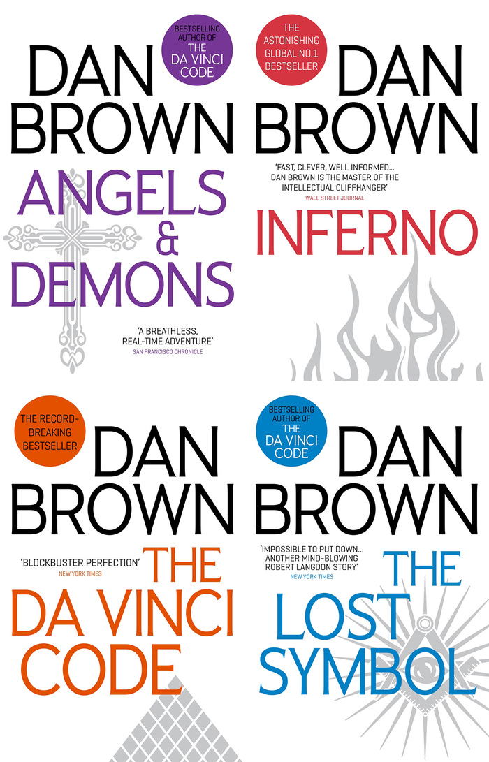 Dan Brown's Robert Langdon series 4