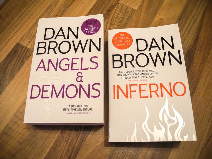 Dan Brown's Robert Langdon series 2