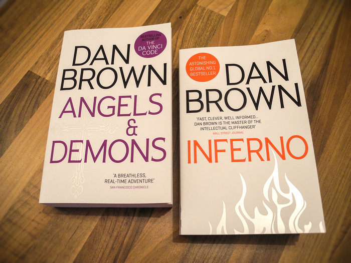 Dan Brown's Robert Langdon series 2