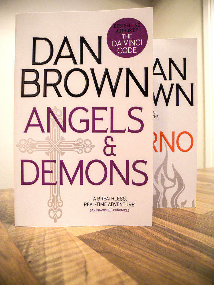 Dan Brown's Robert Langdon series 1