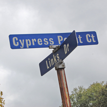 Original Reston, Virginia street signs