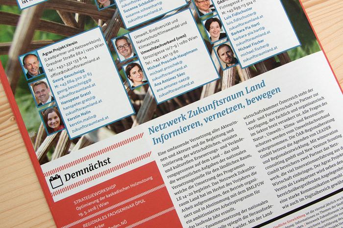 The magazine was designed by Austrian designer Andrea Neuwirth.