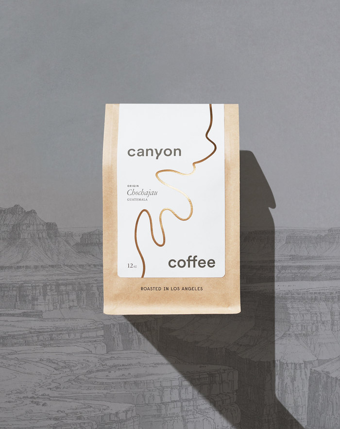 Canyon Coffee packaging 1