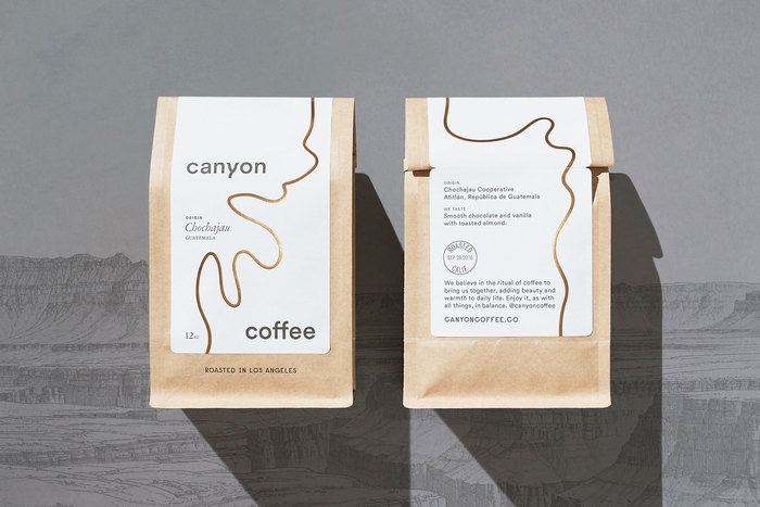 Canyon Coffee packaging 4