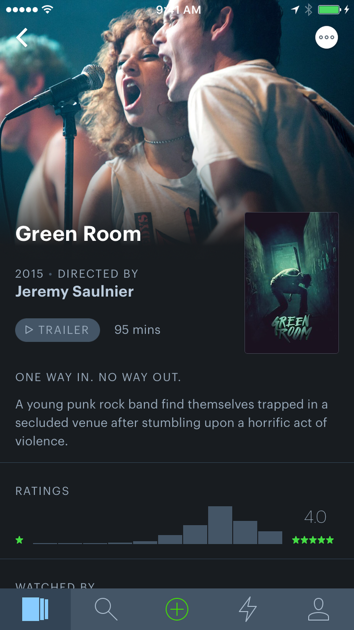 Letterboxd for iPhone 1