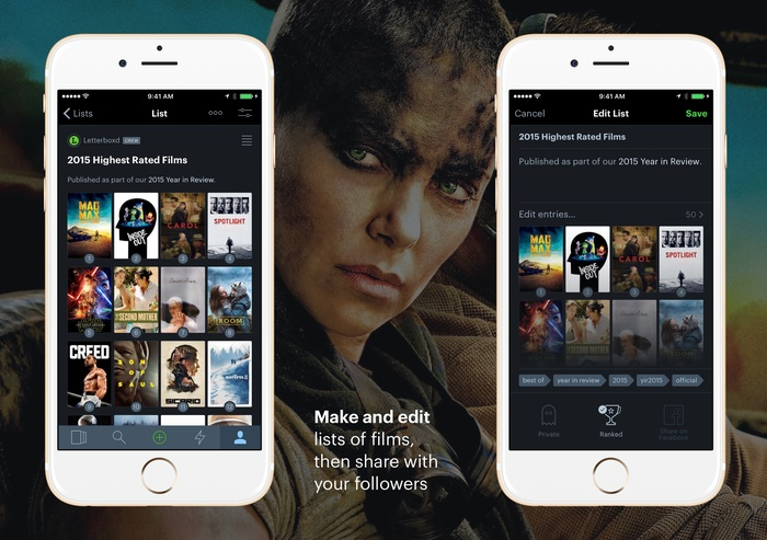 Letterboxd for iPhone 6