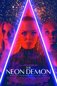 <cite>The Neon Demon</cite> posters