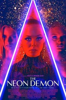 <cite>The Neon Demon</cite> posters