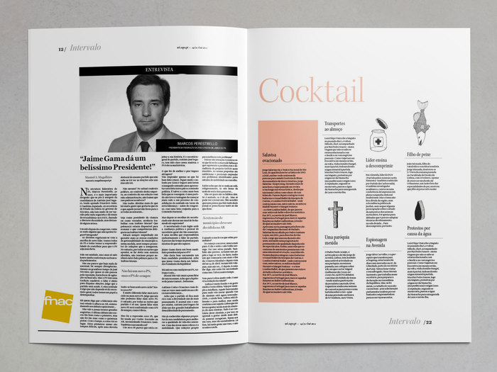 Cocktail section page