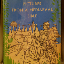 <cite>Pictures From a Mediaeval Bible, </cite>Beacon Press